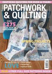 Patchwork and Quilting issue Mar-18