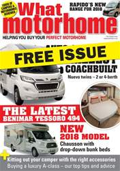 Free sample - What Motorhome magazine 2018 issue Free sample - What Motorhome magazine 2018