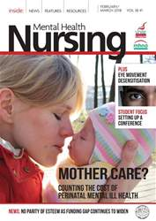 Mental Health Nursing issue February/March 2018