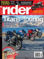 Rider Magazine issue April 2018