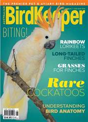 BirdKeeper Vol 31 Iss 1 issue BirdKeeper Vol 31 Iss 1