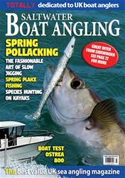 Saltwater Boat Angling issue Mar-18