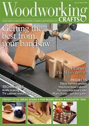 Woodworking Crafts Magazine issue March 2018
