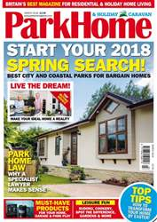 Park Home & Holiday Caravan issue March 2018