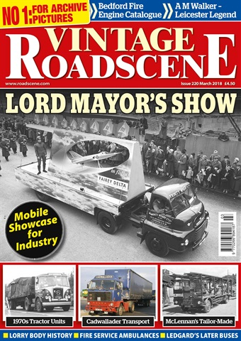 Vintage Roadscene issue March 2018