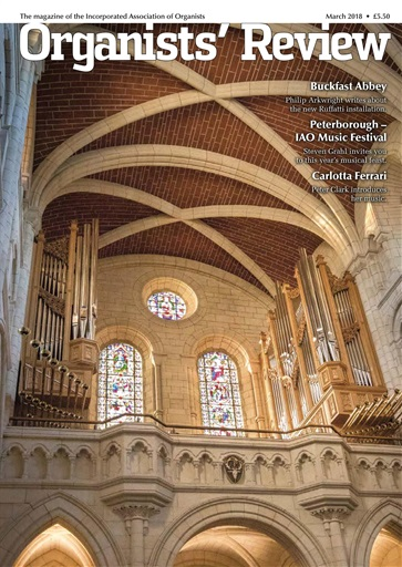 Organists' Review Preview