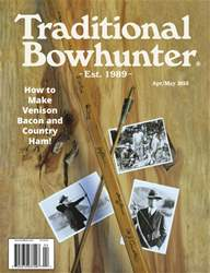 Traditional Bowhunter Magazine issue Apr/May 2018