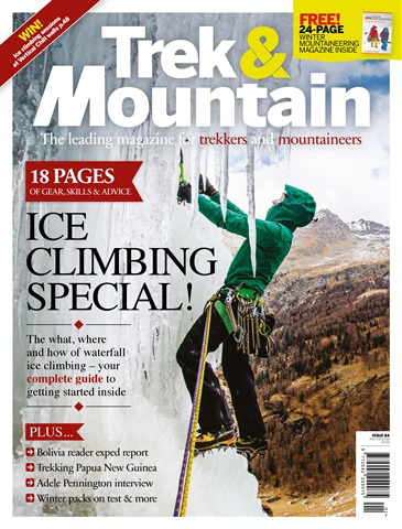 Trek & Mountain Magazine issue Jan-Feb 18