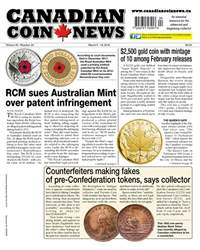 Canadian Coin News issue V55#24 - March 6