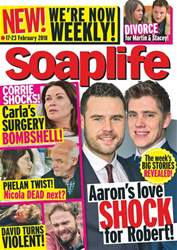 Soaplife issue 17th February 2018