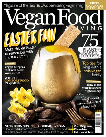 Vegan Food & Living issue Mar-18