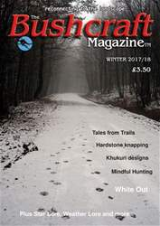 Bushcraft Magazine issue Winter 2017/18