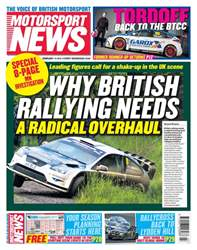 Motorsport News issue 14th February 2018