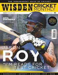Wisden Cricket Monthly issue February 2018