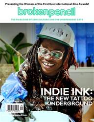 Broken Pencil issue Issue 78: Indie Ink and the New Tattoo Underground