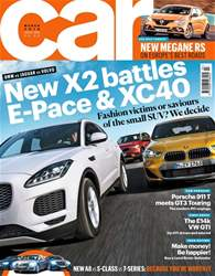 Car issue March 2018