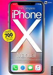 iPhone X Manual issue iPhone X Manual
