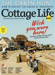 Cottage Life West issue SPRING 2018
