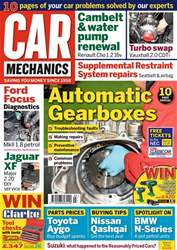 Car Mechanics issue March 2018