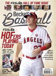 Beckett Baseball issue March 2018
