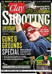 Clay Shooting issue March 2018