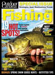 Outdoor Canada issue Fishing Special 2018