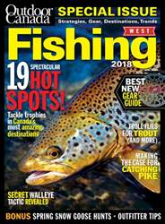 Outdoor Canada issue Fishing West 2018