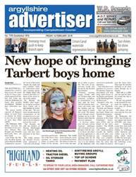 Argyllshire Advertiser issue 16th February 2018