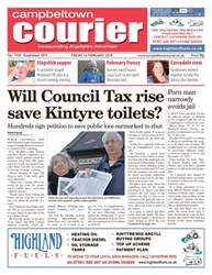 Campbeltown Courier issue 16th February 2018
