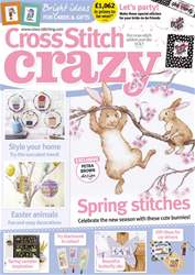 Cross Stitch Crazy issue April 2018