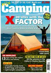 Camping issue April