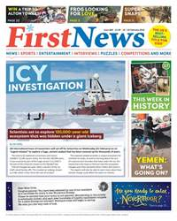First News Issue 609 issue First News Issue 609