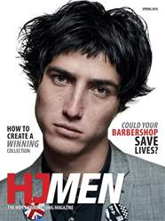 Hairdressers Journal issue HJ Men Spring 2018