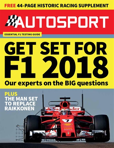 Autosport issue 15th February 2018
