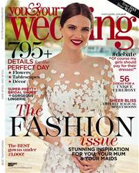 You & Your Wedding issue March and April 2018