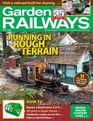 Garden Railways issue April 2018