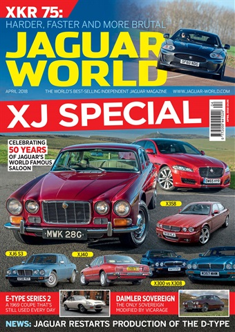 Jaguar World issue April 2018