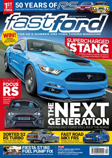 Fast Ford Magazine April 2018 Subscriptions Pocketmags