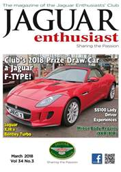 Jaguar Enthusiast issue March 2018