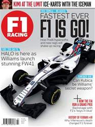 F1 Racing issue March 2018
