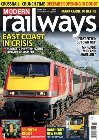 Modern Railways issue  March 2018