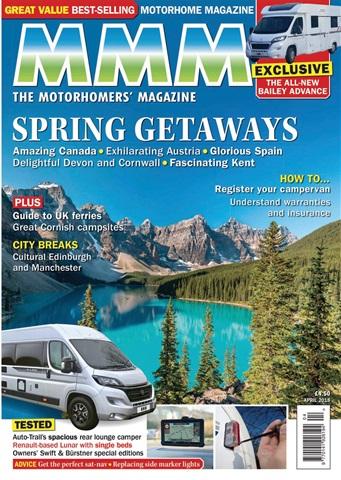 MMM magazine issue Spring Getaways - April 2018