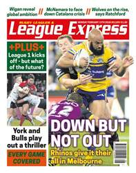 League Express issue 3109