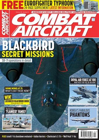 Combat Aircraft issue   April 2018