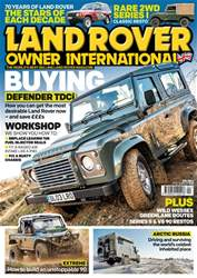 Land Rover Owner issue April 2018