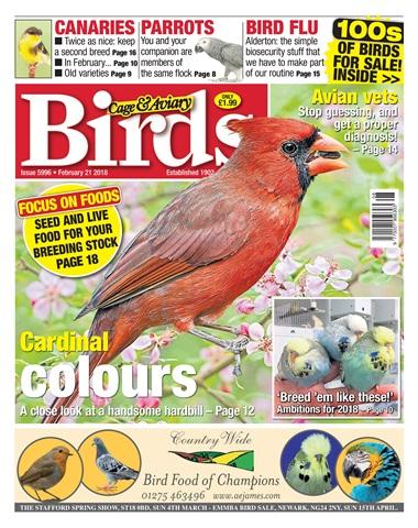 Cage & Aviary Birds issue 21st February 2018