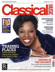 Classical Music issue March 2018