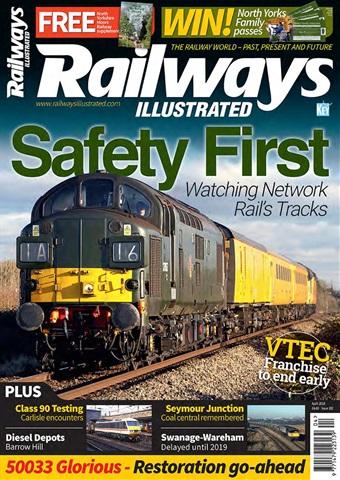 Railways Illustrated issue   April 2018