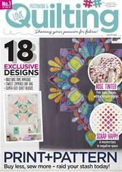 Love Patchwork & Quilting issue Issue 58