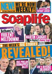 Soaplife issue 24th February 2018